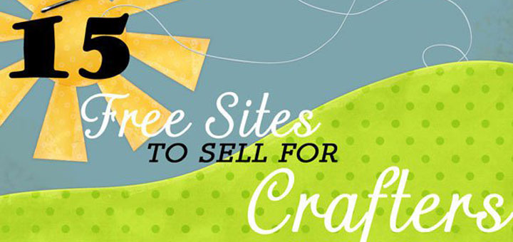 15 free sites to sell for crafters icraftopia for Website to sell crafts for free