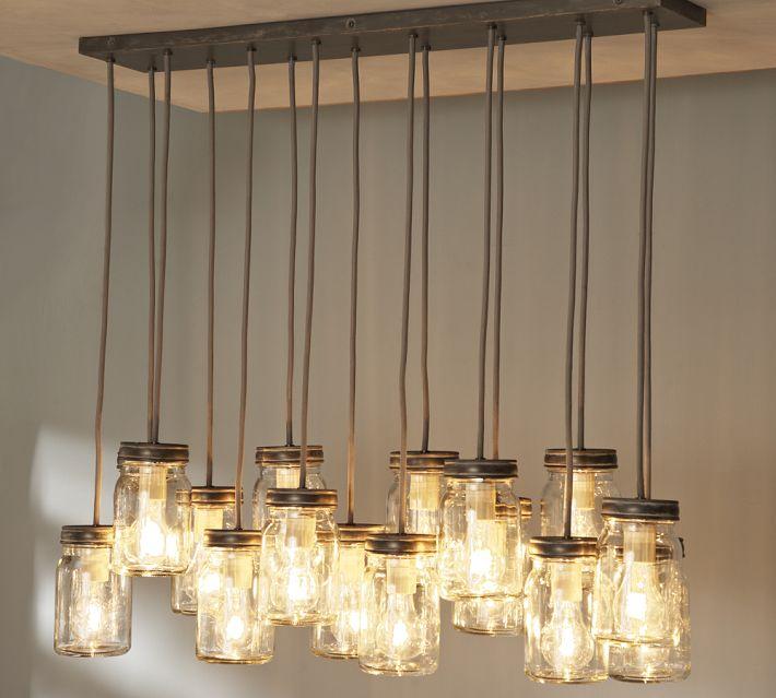 Mason Jar Hanging Lighting