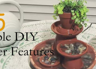 5 Simple DIY Water Features