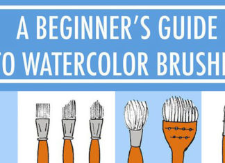 Guide-to-Different-Types-of-Watercolor-Brushes