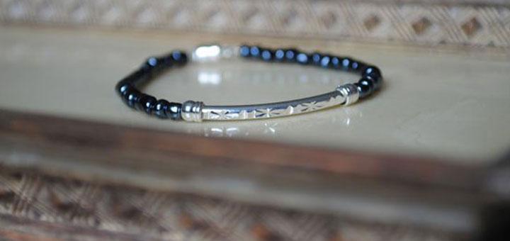 indigo-Isle-Simple-jet-beaded-bracelet